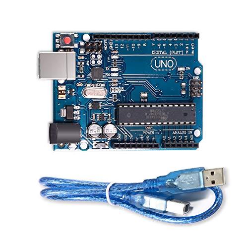 Placa UNO R3 profesional MEGA328P & ATMEGA16U2 cable