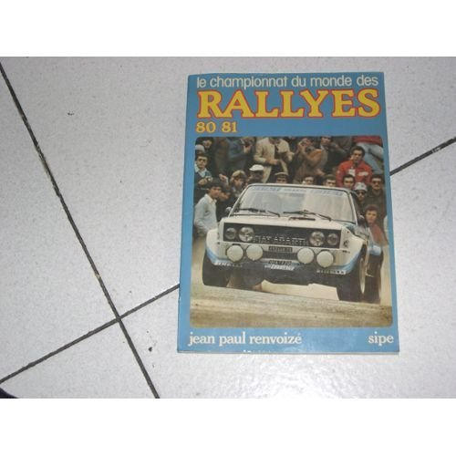 Le Championnat du monde des rallyes