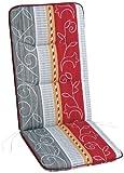 Best 05200772 - Cuscino per sedia da giardino con schienale alto, 120 x 50 x 6 cm