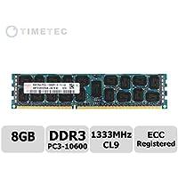 Timetec Hynix (73hn13erl2r4–8G) 8GB DDR31333MHz ECC Registered 2Rx4512x 41.35V server memoria (Samsung Buffered Memoria)