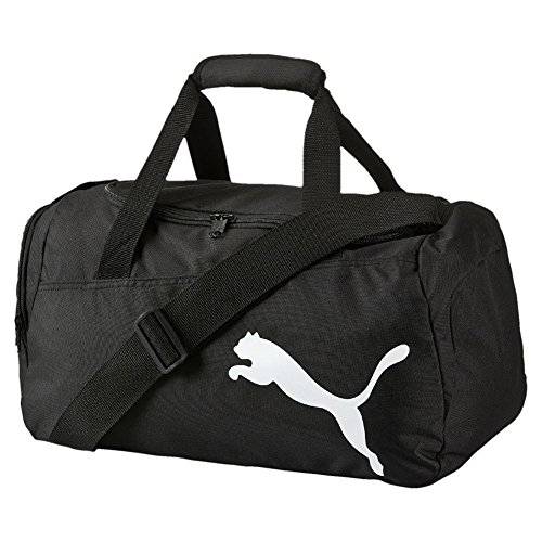 PUMA Pro Training Small Bag Sporttasche, Puma Black-Fiery Coral, 44.5 x 24.5 x 3 cm
