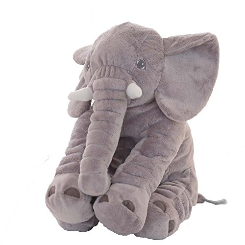 Kailya Elephant Cuddly Animal Toy Fall Sleeping Baby Cojín Almohadas Algodón Infantil...