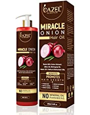 Dazel - The skin pulse Miracle Onion Hair Oil 200ML Infused With Organic & Natural Extracts