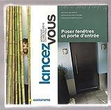 Poser Fenêtres et porte d'entrée - coffret Livres + DVD