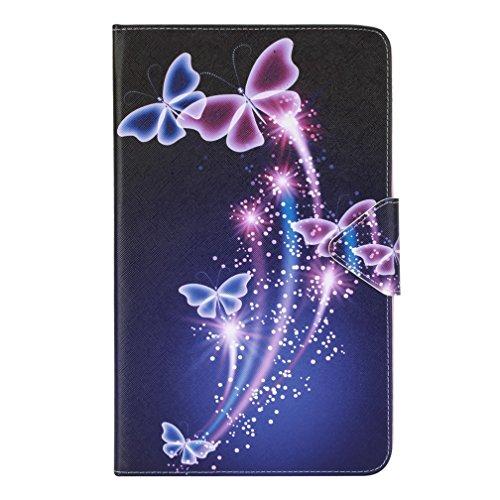 Samsung Galaxy Tab A6 T580N hülle,Slim PU Leder Tasche Cover Schutzhülle Schale Etui für Samsung Galaxy Tab A 10,1 Zoll T580N / T585N Tablet (2016 Version) Hülle Ledertasche mit Standfunktion A6-tablett