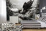 Fototapete Alchemy Yggdrasill's Precious Artwork Drache Dragon Vlies-Tapete Wandbild (254 x 184cm - 2-teilig)