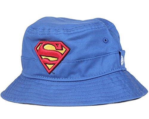 New Era Superman Character Bucket Hat Youth Royal Sonnenhut Kids DC Comics - Hüte New Era Jungen
