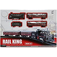 Angel Impex Modern Intelligent Classical Train Set with Amazing Sound and Light for Kids (Multicolour)