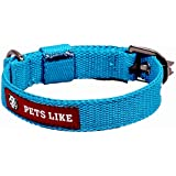 PetsLike Collar, Sky Blue (20 mm)