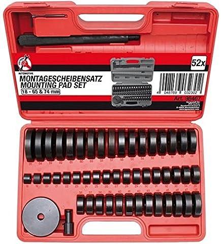 BGS de roulement de roue Assemblage Ensemble de disques 52pièce Lot de 2, 98467