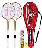 #4: Roxon Phantom Badminton Racquet with Attractive cover and shuttlecock