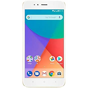 "Xiaomi Mi A1 Dual SIM 4G 32GB Gold, White - Smartphones (14 cm (5.5""), 1920 x 1080 pixels, 32 GB, 12 MP, Android, Gold, White)"