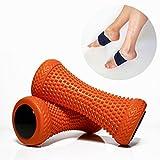 2 x Tyldrë Fußmassage - Roller für Plantarfasziitis - Therapie-Massage-Tool zur Erholung bei Muskelschmerzen - Schmerzlinderung für Hacken & Fußgewölbe - 2er-Set für Stressreduzierung und Entspannung