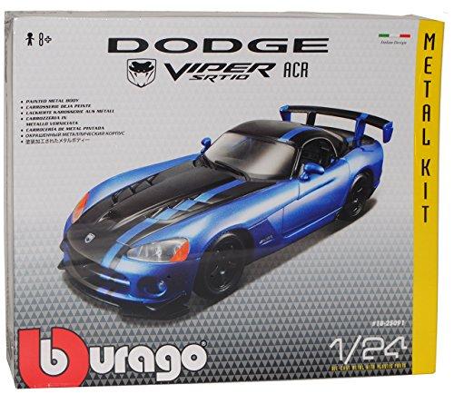 dodge-viper-srt10-srt-10-blau-acr-coupe-tuning-kit-bausatz-1-24-bburago-burago-modellauto-modell-aut