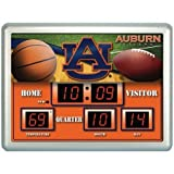 Auburn Tigers Anzeigetafel Uhr