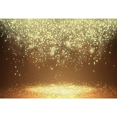gelbes Licht Leuchten fallenden Blütenblättern Fotografie Hintergrund Traumhafter Erwachsenes Mädchen Kleinkind Schießen Hochzeitsliebhaber Valentinstag Banner Studio ()