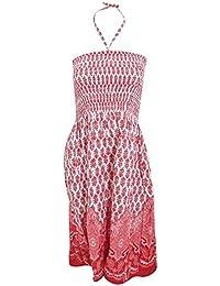 Universal Textiles Womens/Ladies Paisley Leaf 3 In 1 Summer Dress