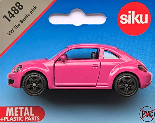 SIKU* 1488 VW The Beetle pink - 1÷55 (PVC-frei)
