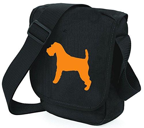 Bag Pixie - Borsa a tracolla unisex adulti Orange Dog Black Bag