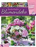 Zauberhafte Blumendeko - Wochenplaner 2020, Wandkalender im Hochformat (25x33 cm) - Wochenkalender mit Rätseln und Sudoku auf der Rückseite - Ackermann Kunstverlag