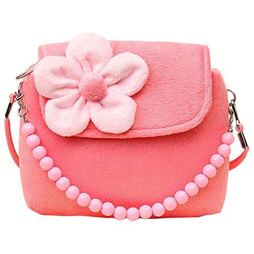 Fablcrew bolso princesa con flores de fieltro