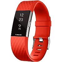 FunBand Compatible per Cinturino Charge 2 Edizione Speciale Morbido Sportivo di Ricambio in TPE, Accessori per Orologio…
