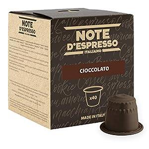 Note D'Espresso Cioccolato Preparato Solubile in Capsule per Bevanda al Gusto di Cioccolato - 280 g (40 x 7 g…