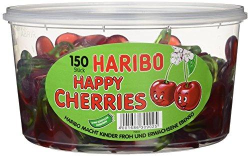 Haribo Happy Cherries, 3er Pack (3 x 1.2 kg)