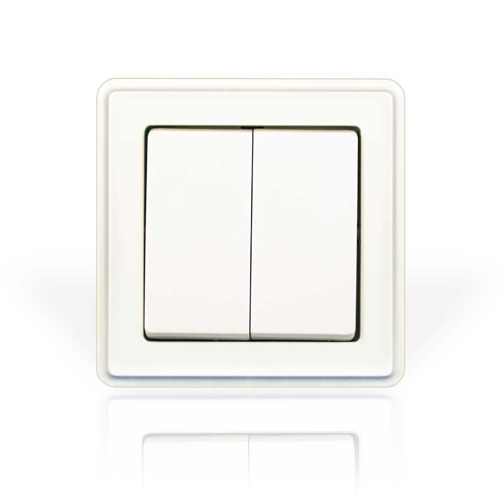 minify Unterputz-Schalterprogramm ECO Plus mit VDE (3-fach: 3 x ...
