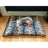 KosiPet® Tiger Fleece Deluxe Medium Waterproof Dog Bed,Dog Beds,Pet Bed,Dogbed,Dogbeds,Petbed,Petbeds,