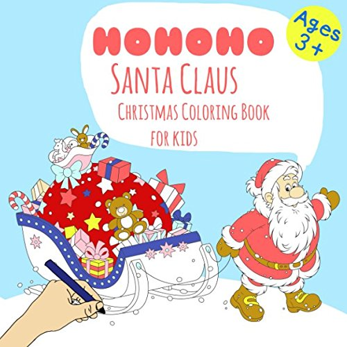 hristmas Coloring Book For Kids Ages 3+ ()