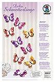 Ursus 21950099 - Deko Schmetterlinge Summer, ca. 8,5 x 7 cm