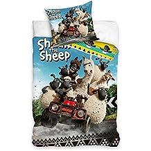 2 tlg Bettwäsche Kinderbettwäsche 140x200+70x90 962 Shaun das Schaf
