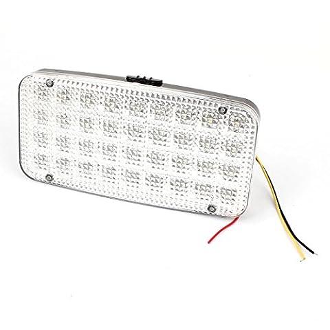 Auto LKW Weiß 36 LED Innen Karte Leseleuchte Lampe DC 12V Fahrzeug Beleuchtung