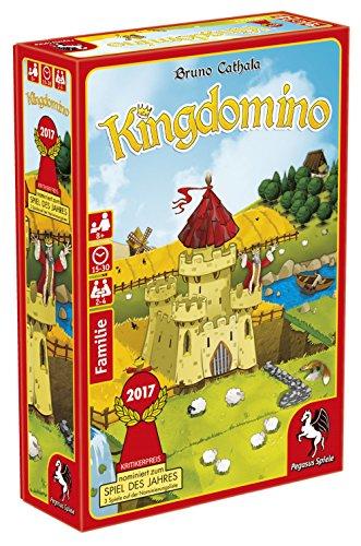 Preisvergleich Produktbild Pegasus Spiele 57103G - Kingdomino, Spiel des Jahres 2017