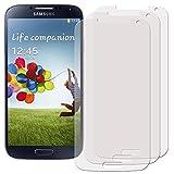 Membrane 3 x Filmex Pellicola Protettiva compatibile con Samsung Galaxy S4 Value Edition (GT-i9515) - Trasparente, Kit di installazione