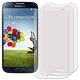 Membrane 3 x Filmex Displayschutzfolie kompatibel für Samsung Galaxy S4 Value Edition (GT-i9515) - Klar Unsichtbar Aufkleber Schutzfolie, Premium-Qualität Japan PET-Folien