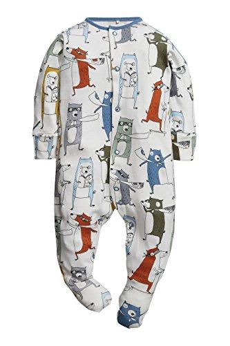 next Bebé Niño Pack De Tres Pijamas Tipo Pelele Animales Superhéroes (0 Meses-2 Años) Estándar