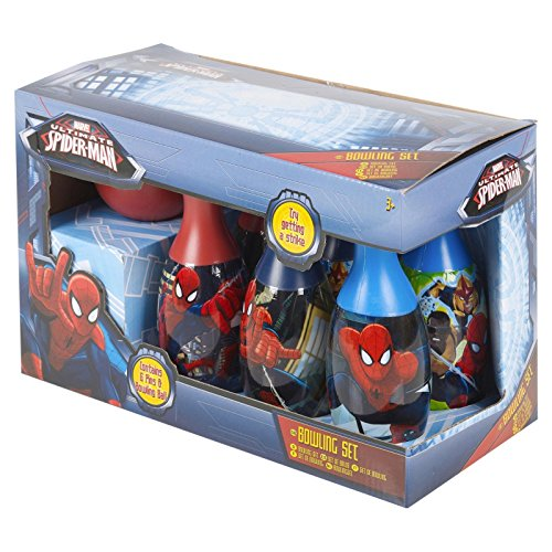 Disney Character Bowling-Set Spiderman