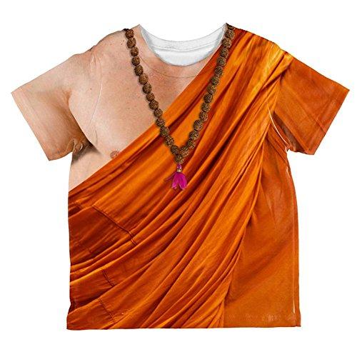 Halloween-buddhistischer Mönch Kostüm ganzen Kleinkind T Shirt Multi 2 t (Buddhistische Kostüme)