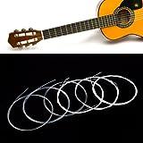 Alice A106 Set 6 Cuerdas Metalica Nylon para Guitarra Clasica 1# - 6# Nuevo