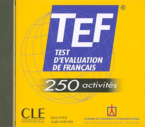 TEF 250 activité - CD audio par Gaëlle Karcher