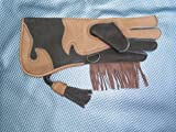 GBFalconry Falknerei Kinderhandschuh lange Stulpe tan Farbe für 7-10 Jährige