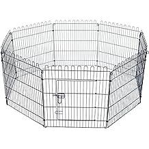 El Mejor Precio TecTake Parque para mascotas valla libre