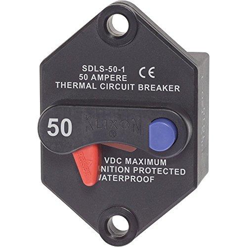 Blue Sea Systems Blue Sea 7073 Klixon Circuit Breaker - Panel Mount 50A