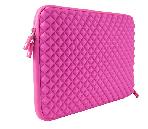 SunSmart Anti-shock Universal 11.6 inch Laptop sleeve bag case pouch for all 11.6-inch Notebook/Macbook Pro 11.6'' / Macbook Air 11.6'' (pink)