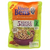 Uncle Ben's Rice & Grains Five Wholegrains Microwaveable Rice, 220g