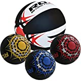 RDX Heavy Crossfit Leather Medicine Ball 5kg, 8kg,10kg, 12kg Weighted Fitness Training Exercise Workout Slam