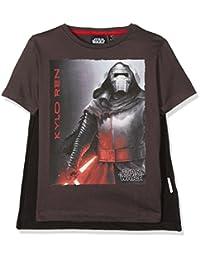 Star Wars Qe1028-Dgrey, T-Shirt Garçon