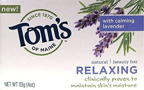 Tom's of Maine Relaxing Natural Beauty Bar -- 4 oz [Misc.]